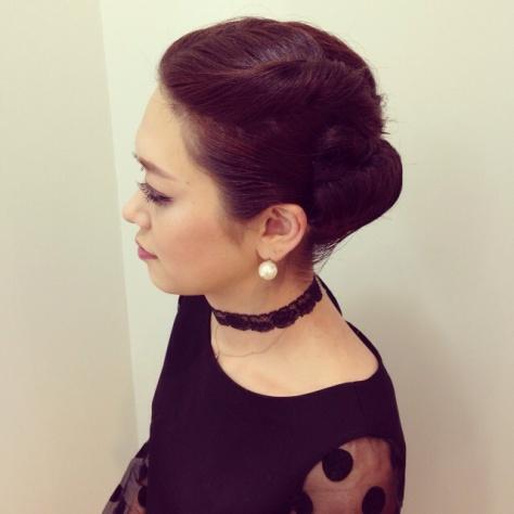 結婚式 髪型 ロング 編みこみ